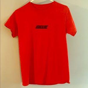 Billie Eilish Official Red Racer Logo T-Shirt